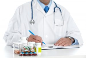 Pharmacist Writing Prescription